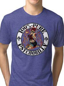 Psychobilly Girl - white Tri-blend T-Shirt