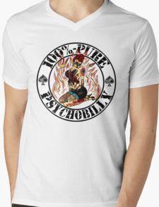 Psychobilly Girl - white Mens V-Neck T-Shirt