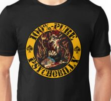 Psychobilly Girl - yellow Unisex T-Shirt