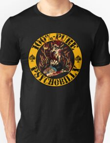 Psychobilly Girl - yellow T-Shirt