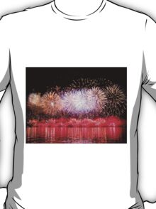 Perth WA Skyworks Australia Day 2015 - The Final Burst ! T-Shirt