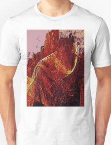 Mountain Of Fire-Available As Art Prints-Mugs,Cases,Duvets,T Shirts,Stickers,etc Unisex T-Shirt