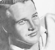 Paul Newman by Karen Townsend