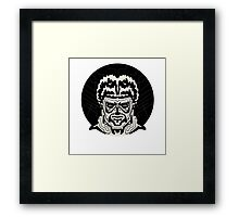 The Striped Man Framed Print