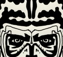The Striped Man Sticker