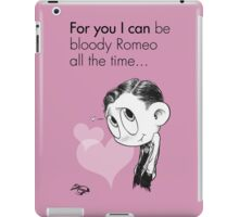 Valentine's  Little Freddie Page iPad Case/Skin