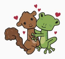 Frog and Squirrel Love Kids Clothes