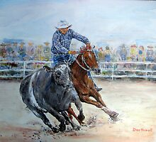 Campdrafting by Des Howell