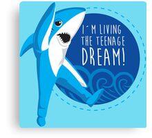 LEFT SHARK DREAM Canvas Print