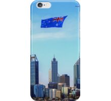 Flying The Flag - Perth WA - Australia Day 2015 - HDR iPhone Case/Skin