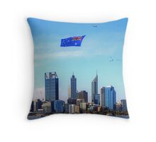 Flying The Flag - Perth WA - Australia Day 2015 - HDR Throw Pillow