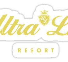 Ultra Luxe Resort - Fallout New Vegas Sticker