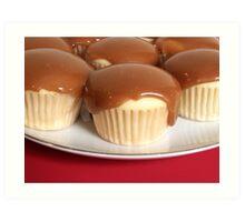 Caramel Cupcakes Art Print