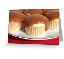 Caramel Cupcakes Greeting Card