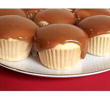 Caramel Cupcakes Photographic Print