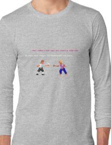 Guybrush - Insult Swordfighting Long Sleeve T-Shirt