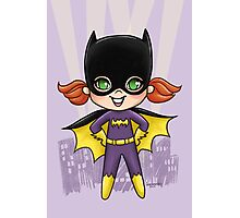 Li'l Batgirl Photographic Print