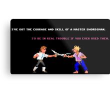 Guybrush - Insult Swordfighting Metal Print