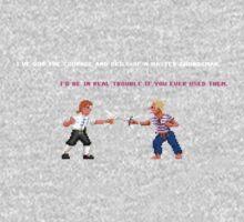 Guybrush - Insult Swordfighting One Piece - Short Sleeve