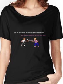 Guybrush - Insult Swordfighting Women's Relaxed Fit T-Shirt