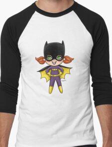 Li'l Batgirl Men's Baseball ¾ T-Shirt