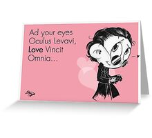 Valentine's  Little Sir Thomas Sharpe Greeting Card