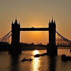 Tower Bridge Sunrise by Lea Valley Photographic