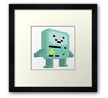 8 bit B-mo Framed Print