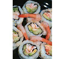 Spicy Shrimp Rolls Photographic Print