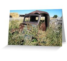 Rusted and Forgotten Greeting Card