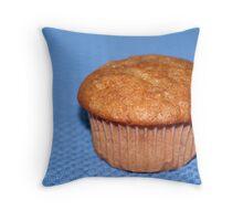 Banana Muffin Throw Pillow
