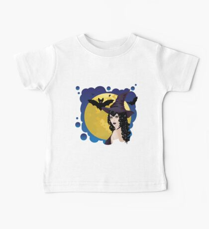 Witch and Bats 2 Baby Tee