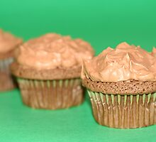 Chocolate Mint Cupcakes by chrishawns
