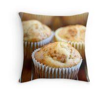 Cinnamon Muffins Throw Pillow