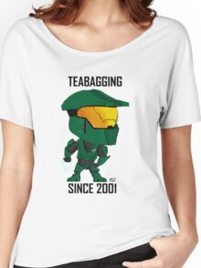 TEABAGGING SINCE 2001 Women's Relaxed Fit T-Shirt