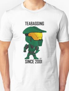 TEABAGGING SINCE 2001 Unisex T-Shirt