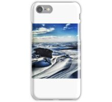 Ice in the Peak iPhone Case/Skin