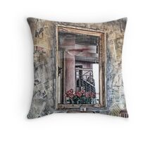 Edited Dimentions Throw Pillow