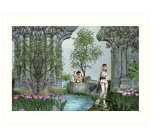 Oriental Dreams Art Print