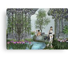 Oriental Dreams Canvas Print