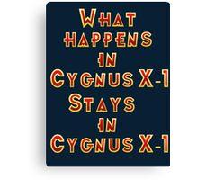 Cygnus X-1 Canvas Print