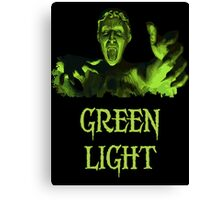 GREEN LIGHT! ..you really shouldn't have blinked... Canvas Print