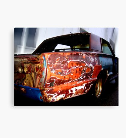 colorful cruiser Canvas Print