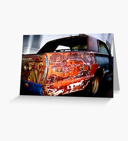 colorful cruiser Greeting Card