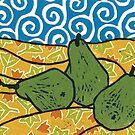 Pears by John Grundeken