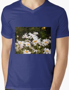 Summer Chamomiles Mens V-Neck T-Shirt
