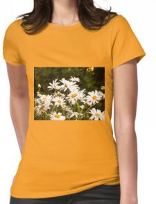 Summer Chamomiles Womens Fitted T-Shirt