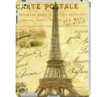 Travel diary Eiffel Tower iPad Case/Skin