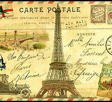 Travel diary Eiffel Tower by MariondeLauzun