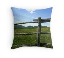 fenced Throw Pillow